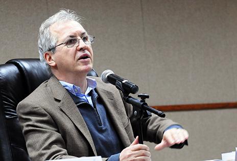 Imagem traz Ricardo Rezende Figueira, coordenador do Grupo de Pesquisa Trabalho Escravo Contemporâneo no Núcleo de Estudos de Políticas Públicas em Direitos Humanos da UFRJ.