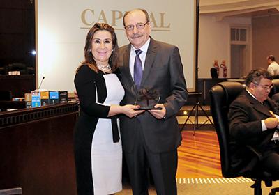Desembargadora Ana Carolina Zaina e desembargador Arnor Lima Neto
