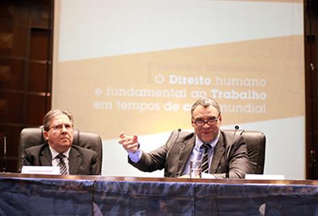 Desembargadores Luiz Eduardo Gunther e Ingo Wolfgang Sarlet