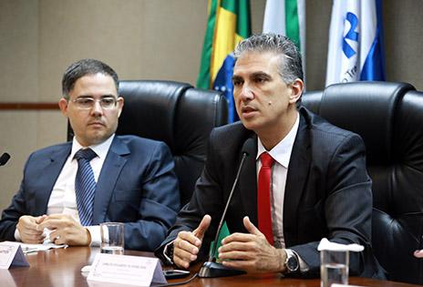 Os conselheiros Fernando Mattos e Carlos Eduardo Dias