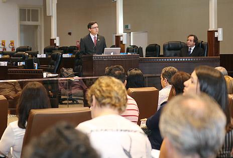 Juiz-auxiliar da Presidência e Conselheiro da Escola Judicial, Fernando Hoffmann