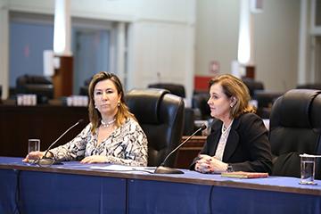 Desembargadoras Ana Carolina Zaina e Marlene T. Fuverki Suguimatsu